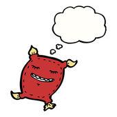 Rauchen-kissenglücklich kissen — Stockvektor