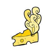 Formaggio puzzolente — Vettoriale Stock