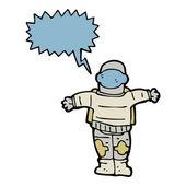 Astronaut — Cтоковый вектор