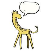 Giraffe — Stockvektor