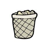 Rubbish bin — Stock Vector