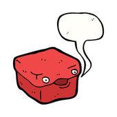 Caja roja — Vector de stock