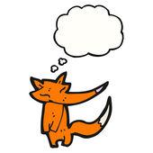 Drôle petit renard — Vecteur
