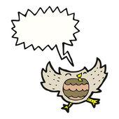 Little owl — Stock Vector