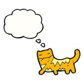Funny cat — Stock Vector