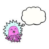 Komik denizanası — Stok Vektör