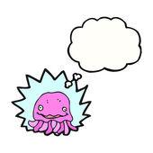Funny jellyfish — Stockvektor