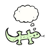 Green lizard — Stock Vector