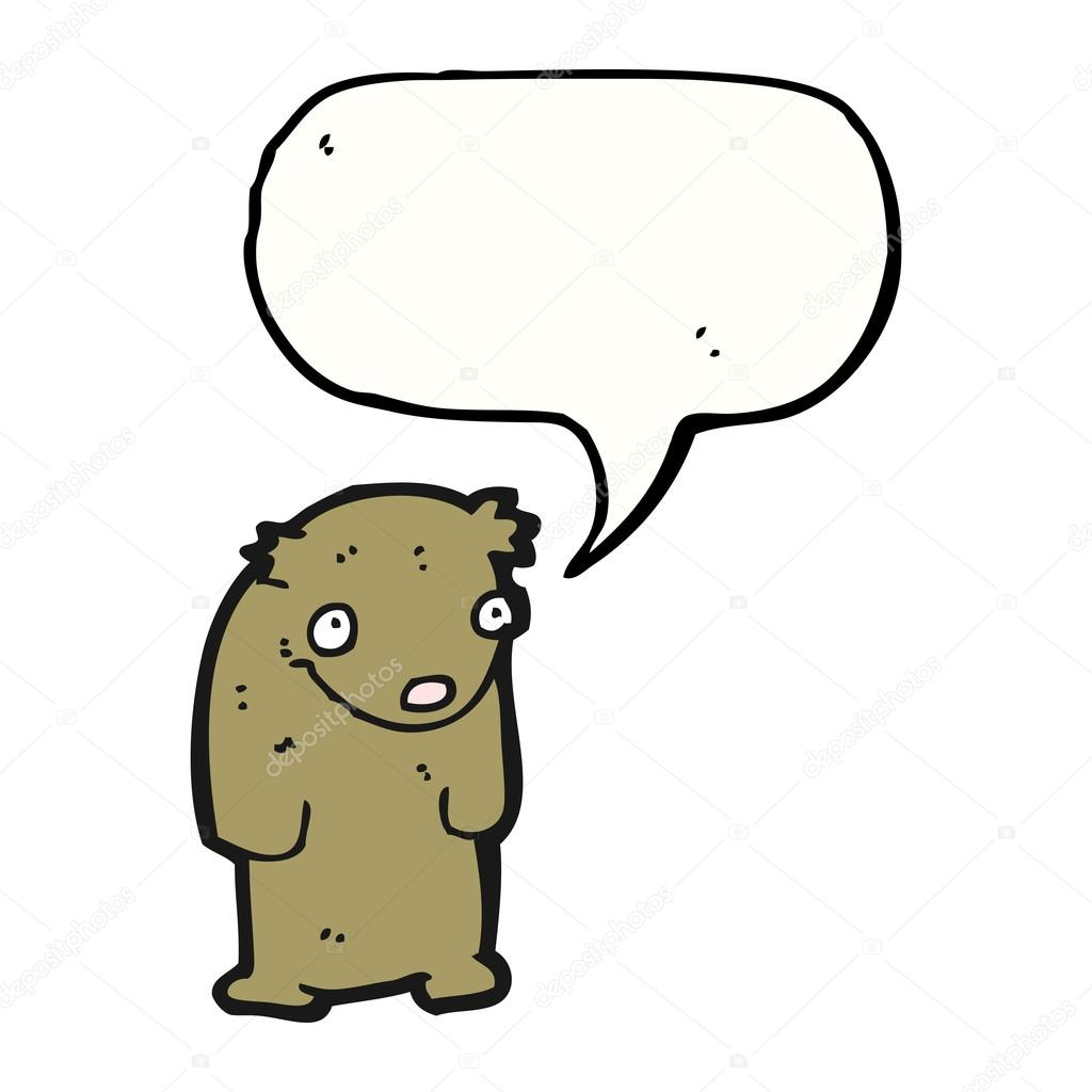 悲伤小泰迪熊