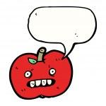 Постер, плакат: Ugly apple