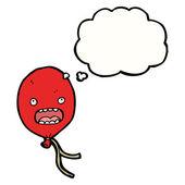 Palloncino rosso — Vettoriale Stock
