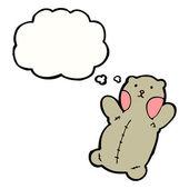 Cute teddy bear — 图库矢量图片