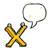 Lettre x — Vecteur