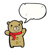 Cute teddy bear — Cтоковый вектор