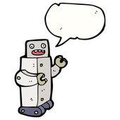 Robot — Vector de stock