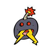 Tokig bomb — Stockvektor