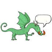 Dragón galés — Vector de stock