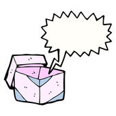 Boîte rose — Vecteur