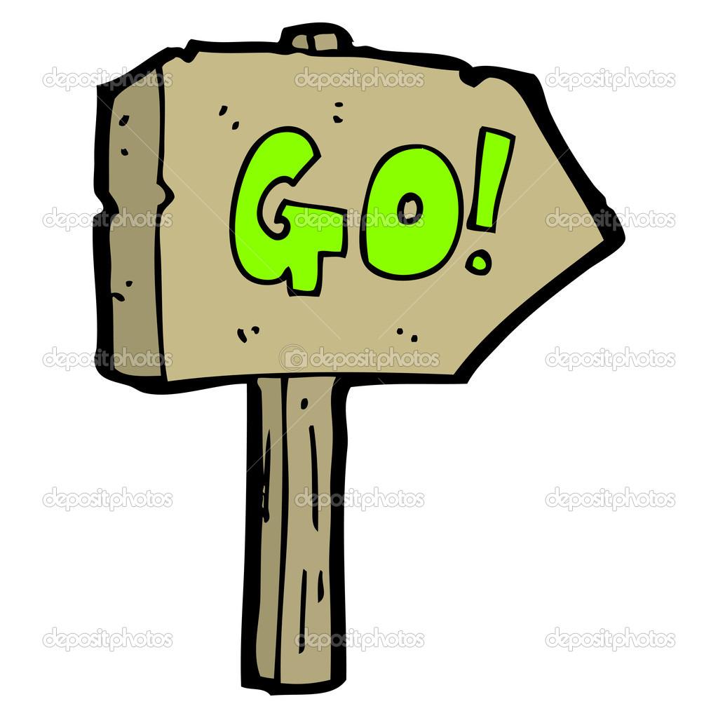 go sign � stock vector 169 lineartestpilot 20951959