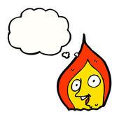Espírito de fogo — Vetorial Stock