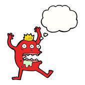 Gross monster scaring — Stock Vector