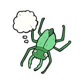 Giant bug — Stock Vector