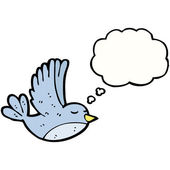 Flying bird — Stock Vector