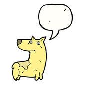 Happy dog — Stok Vektör