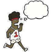 Maraton koşucusu — Stok Vektör