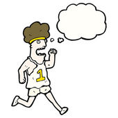 Runner — Stockvektor