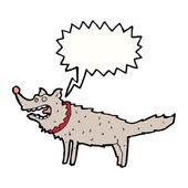 Scruffy dog — Stock Vector
