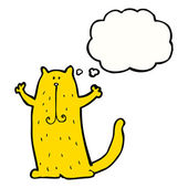 幸せな猫 — ストックベクタ