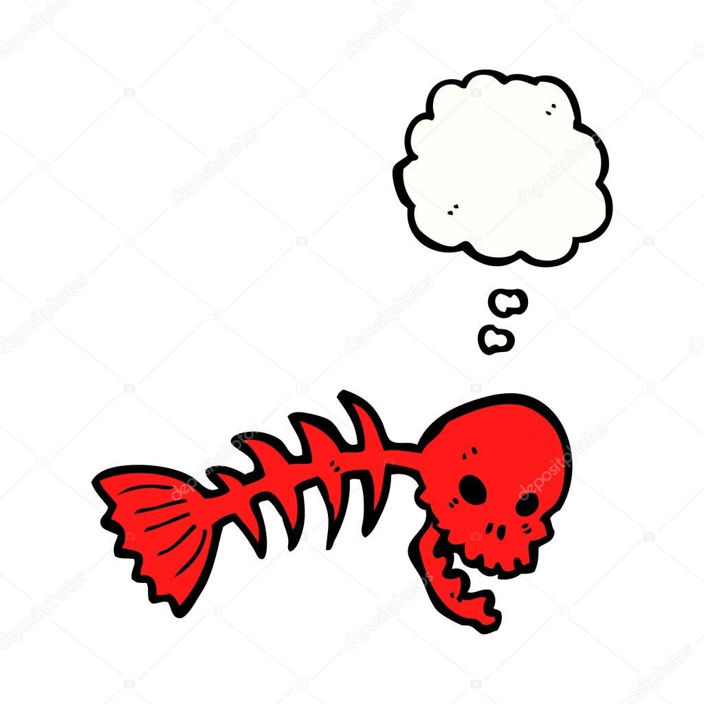 Redfish Skeleton Drawing Viewing Gallery