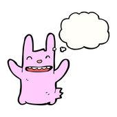 粉红兔 — 图库矢量图片