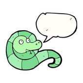 Friendly snake — Stock Vector