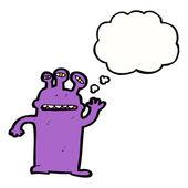 Friendly monster — Stock Vector