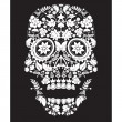 Royalty-Free Stock Vector Image: Skull backdrop