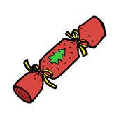 クリスマス クラッカー — ストックベクタ
