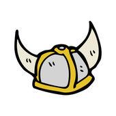 バイキング ヘルメット — ストックベクタ