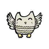 Funny owl — Stock Vector