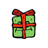 Christmas present — Vector de stock