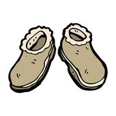 Slippers — Stock Vector