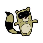 Raccoon — Stock Vector
