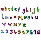 Alphabet — Stock vektor