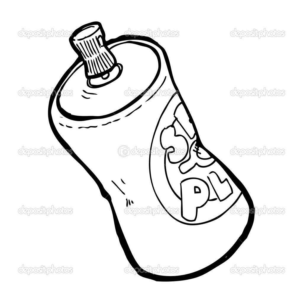 spray can coloring pages-#42
