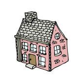 Old farmhouse — Stock Vector