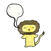 Schattig leeuw — Stockvector