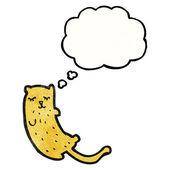 做梦的猫 — 图库矢量图片