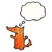 Fox op een witte achtergrond — Stockvector