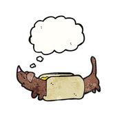 Hot dog — Stockvector